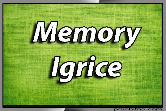 memori igre
